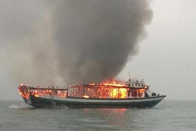 Cháy tàu trên vinh Hạ Long: Tạm dừng hoạt động toàn bộ số tàu của Công ty TNHH Du thuyền Bhaya