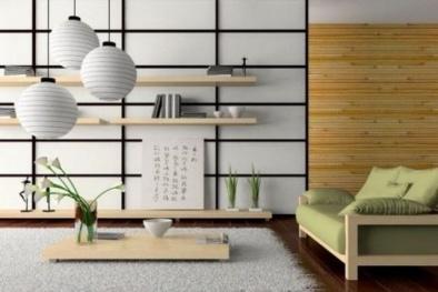 Học 'bí kíp' trang trí phòng khách vừa giản dị vừa hợp phong thủy của người Nhật