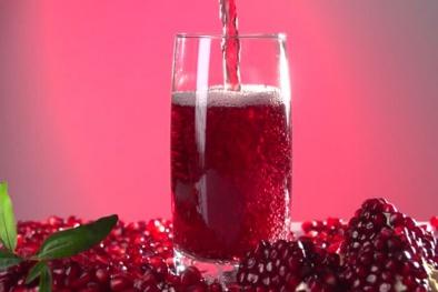 Nước ép lựu giúp bạn làm giảm nguy cơ mắc bệnh tim