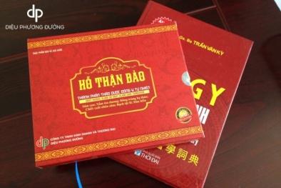Website Hothanbao.com vi phạm về quảng cáo sản phẩm Hỗ Thận bảo