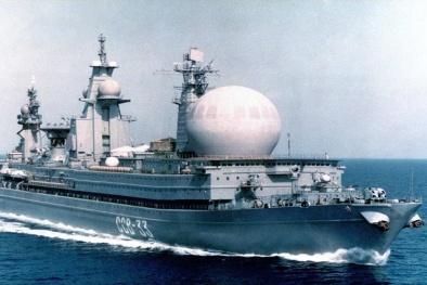 Số phận 'thảm' của tàu trinh sát SSV-33 Ural 'khủng' nhất hành tinh