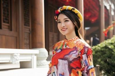 Hoa hậu Đỗ Mỹ Linh làm đại sứ cho Lễ hội Áo dài 2017