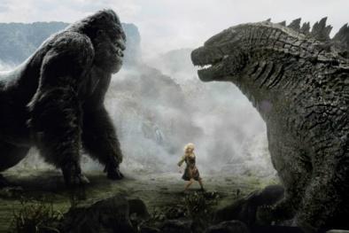 Kong: Skull Island hé lộ cảnh quái thú đại chiến cùng King Kong ở Ninh Bình