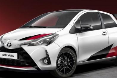 Cận cảnh chiếc Toyota Yaris 2017 siêu mạnh chuẩn bị được ra mắt