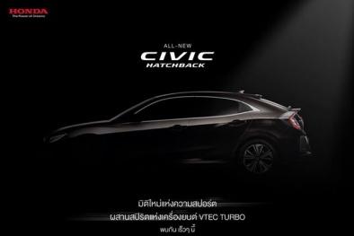 Honda Civic Hatchback 2017 chuẩn bị ra mắt tại Thái Lan có gì mới?