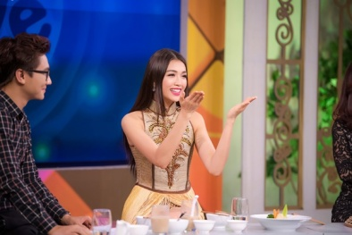 Lệ Hằng diện trang phục dân tộc 'Nàng mây' lên truyền hình quốc gia