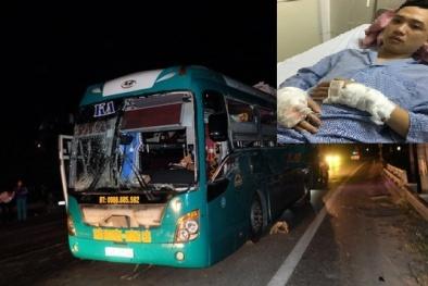 Nổ xe khách ở Bắc Ninh: Lời kể 'nổi da gà' của hành khách trên xe
