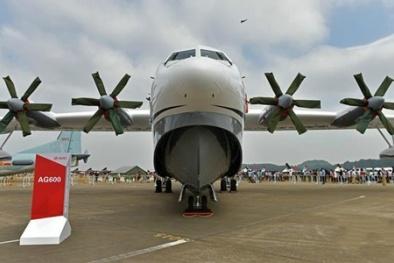 Thủy phi cơ AG-600 'khủng' nhất hành tinh nguy hiểm thế nào?