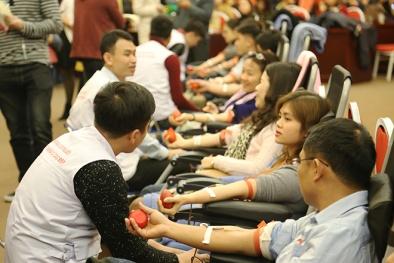 Cán bộ, người lao động Bộ KH&CN hiến máu vì sức khỏe cộng đồng