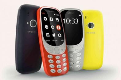 Vừa ra mắt thị trường Nokia 3310 2017 được đồn đoán pin 'khỏe như trâu'