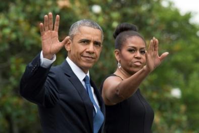 Vợ chồng ông Obama viết hồi ký với hợp đồng 60 triệu USD