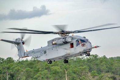 Trực thăng CH-53E Stallion - loại vũ khí '3 nhất' của Mỹ
