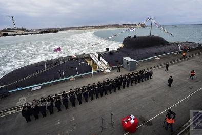 Tàu ngầm K-419 Kuzbass đa nhiệm của Nga khiến đối thủ 'điêu đứng'