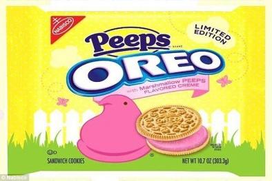 Cảnh báo nguy hiểm từ loại phẩm màu có trong bánh Oreo