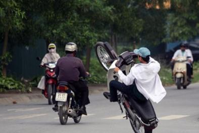 An toàn giao thông: 9 trường hợp vi phạm sẽ bị tịch thu xe máy