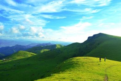 Mê mẩn với vẻ đẹp bình yên trên thảo nguyên xanh Đồng Cao