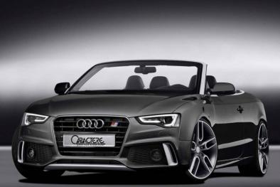Mãn nhãn với những hình ảnh mới nhất của chiếc mui trần Audi A5 Cabriolet