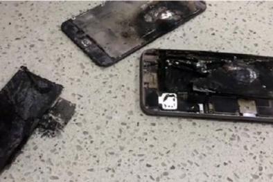 Hoảng hốt IPhone 6 Plus phát nổ ngay trên tay người dùng