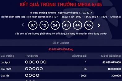 Xổ số Vietlott: Hôm nay sẽ có người 'ẵm' giải Jackpot hơn 12 tỷ đồng