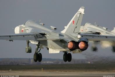 Chiến đấu cơ Su- 24 Fencer: 'Nắm đấm thép' của Nga có thể mang 8 tấn bom đạn