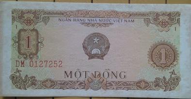 Tờ tiền cũ mệnh giá 1 đồng của Việt Nam được rao giá hơn 45 triệu trên eBay