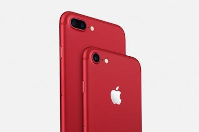 iPhone 7 đỏ rực gây 'sốt' thị trường Việt với giá từ 21,7 triệu đồng