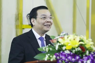 Bộ trưởng Chu Ngọc Anh tới thăm và làm việc tại Viện Đo lường Việt Nam