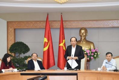 Thủ tướng Chính phủ: Công khai những Bộ ít quan tâm đến thể chế