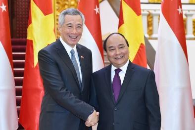 Thủ tướng Singapore Lý Hiển Long kết thúc tốt đẹp chuyến thăm chính thức Việt Nam