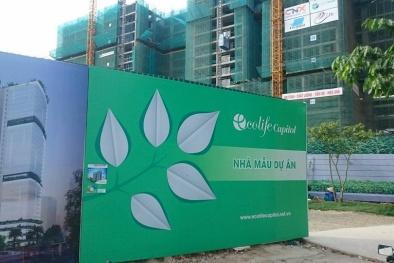 Yêu cầu Chủ đầu tư Ecolife Capitol bồi thường hơn 200 căn hộ bị sai vật tư, cấu trúc