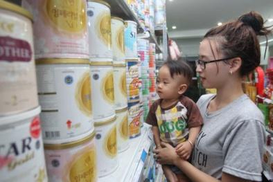 Danh sách các đơn vị kinh doanh sữa và thực phẩm chức năng kê khai giá