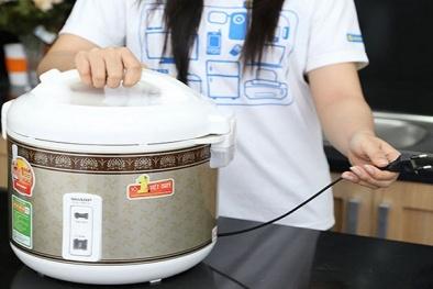 Cách sử dụng nồi cơm điện tiết kiệm điện tối đa