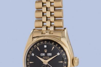 Đồng hồ Rolex của vua Bảo Đại được đấu giá tại Thụy Sĩ