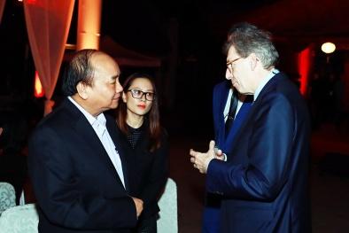 Thủ tướng gặp mặt các doanh nhân quốc tế tại Văn Miếu-Quốc Tử Giám