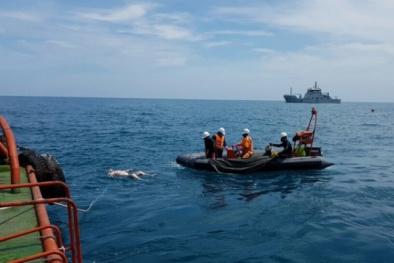 Vụ chìm tàu Hải Thành 26: Đã tìm thấy thi thể 6 thuyền viên