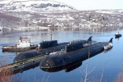 Tàu ngầm lớp Oscar: 'Kẻ hủy diệt' đáng sợ nhất của mọi tàu sân bay thế giới