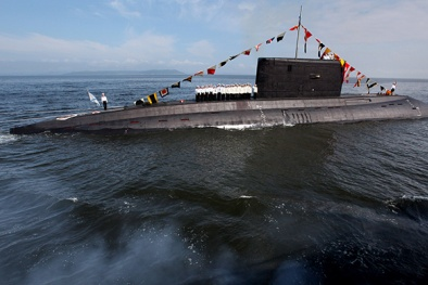 Lợi hại tàu ngầm lớp Varshavyanka chạy êm và bí mật số 1 hành tinh của Nga