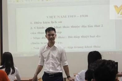 Chàng Trung úy trẻ và lớp ôn thi miễn phí