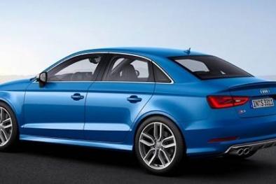Lỗi túi khí khiến gần 12 nghìn xe Audi A3 và S3 2017 bị thu hồi