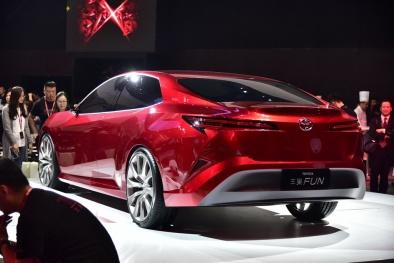 Cận cảnh chiếc Toyota Fun Concept 'bản sao' của Toyta Camry 2018