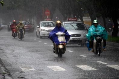 Dự báo thời tiết ngày 22/4: Không khí lạnh gây mưa dông trên cả nước