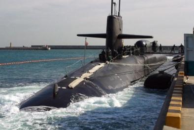 Tàu ngầm USS Michigan mang vũ khí hủy diệt kinh hoàng nhất của Mỹ
