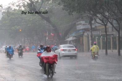 Dự báo thời tiết ngày 27/4: Không khí lạnh gây mưa rào ở Bắc Bộ