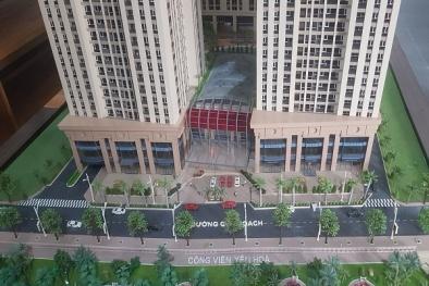 Chủ đầu tư dự án Home City đã mở lối đi tạm cho cư dân