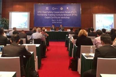 APEC 2017 SOM 2: Tạo thuận lợi về chứng nhận xuất khẩu