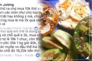 Thực hư bữa cơm chỉ 30.000 đồng của cô sinh viên Hà Nội gây tranh cãi