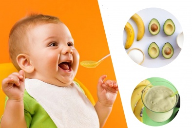 Cách làm sinh tố chuối bơ cho bé ăn dặm ngon miệng, chóng lớn
