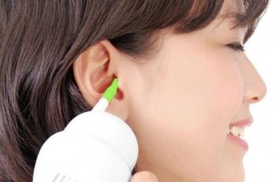 Thủng màng nhĩ, điếc vĩnh viễn vì dùng máy hút ráy tai sai cách