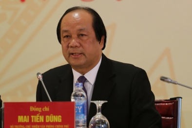 Bộ trưởng Mai Tiến Dũng: 'Tinh thần khởi nghiệp đang vô cùng sôi động và mạnh mẽ'