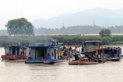 Quảng Ninh: Công ty Thái Sơn tạm dừng nạo vét tuyến luồng sông Cầm